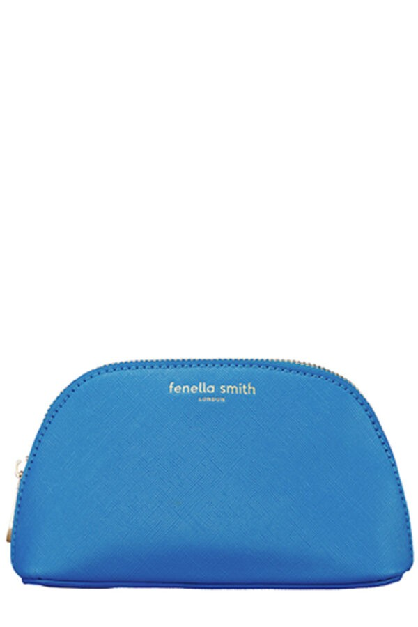 Fenella Smith Azure Oyster Cosmetic Case